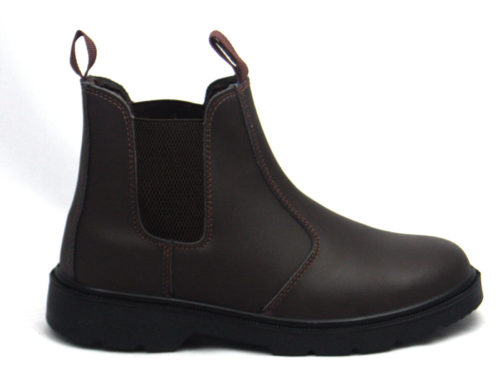 4b891abb48d Blackrock Leather Steel Toe Cap Dealer Boots Brown