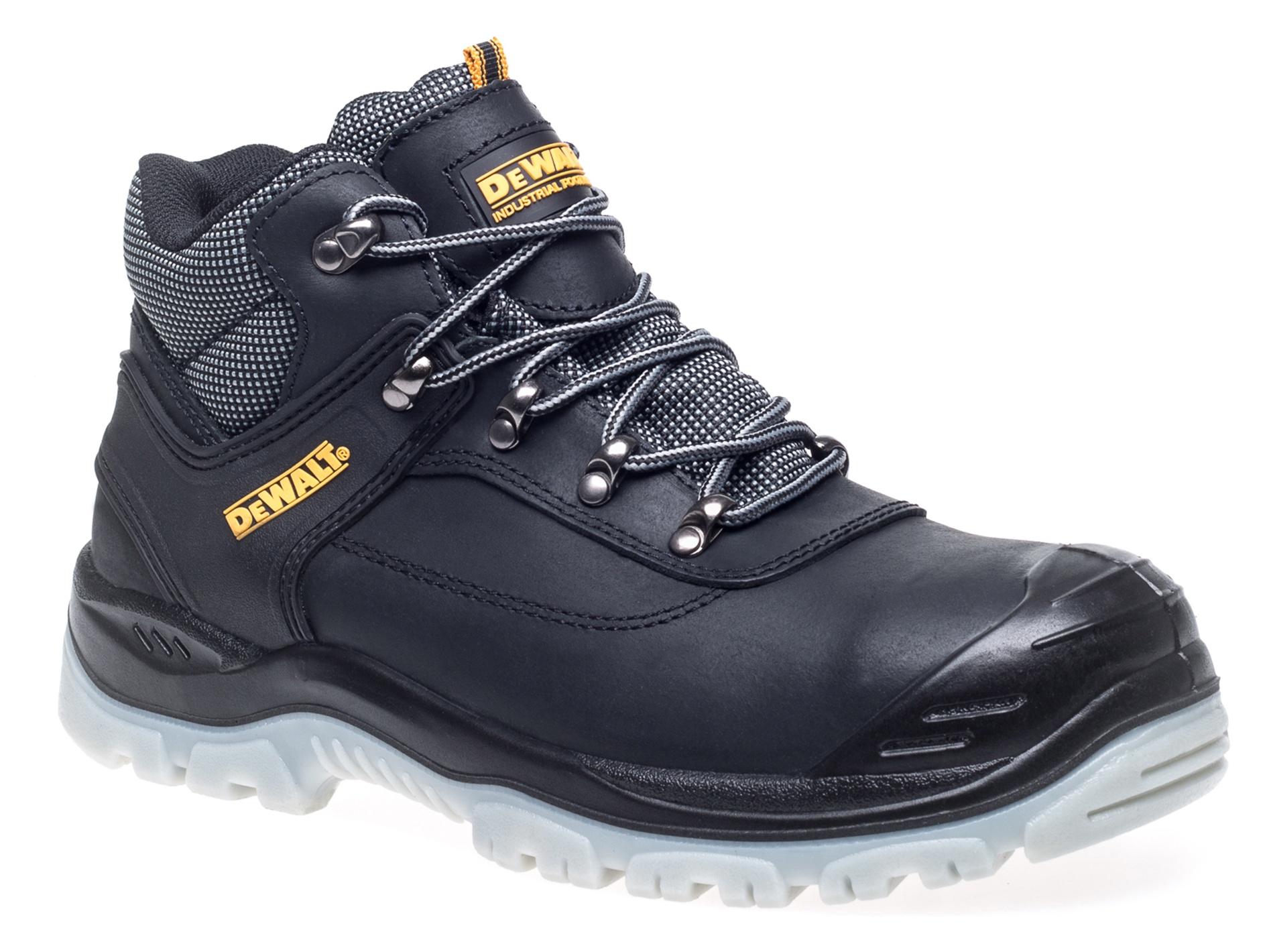 24166592282 MENS DEWALT LASER BOOTS SAFETY WORK HIKER BOOTS STEEL TOE CAPS