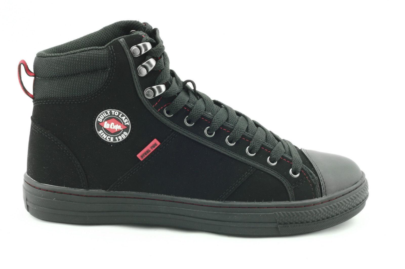 c5c929e35f0 Lee Cooper Work Boot Safety Toe Cap Black